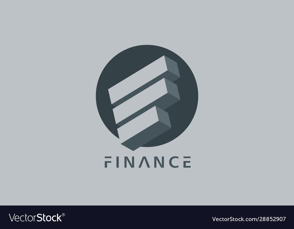 Finance logo adviser business consalting