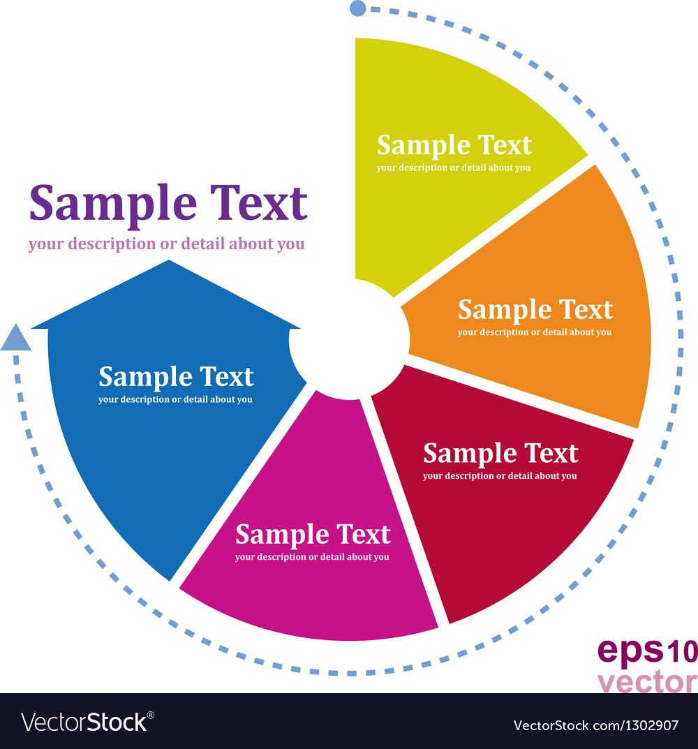 Pdca continual vector image