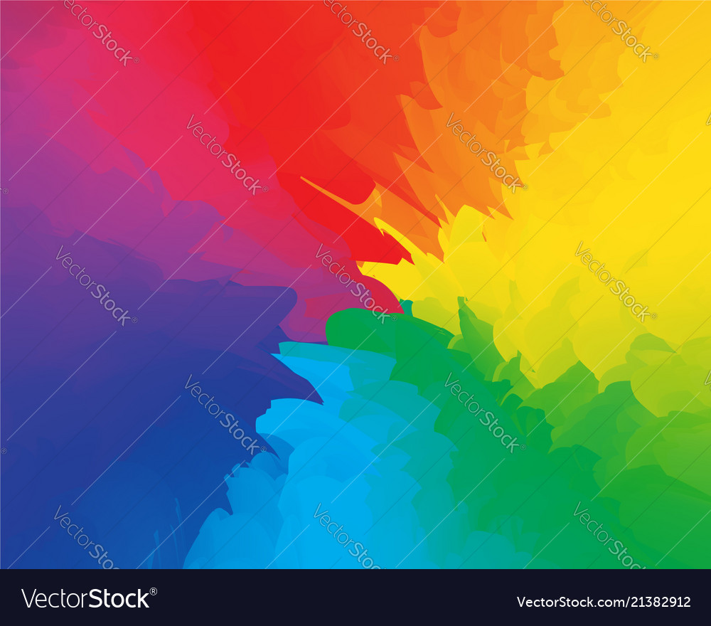 Abstract fun party backdrop multicolored rainbow