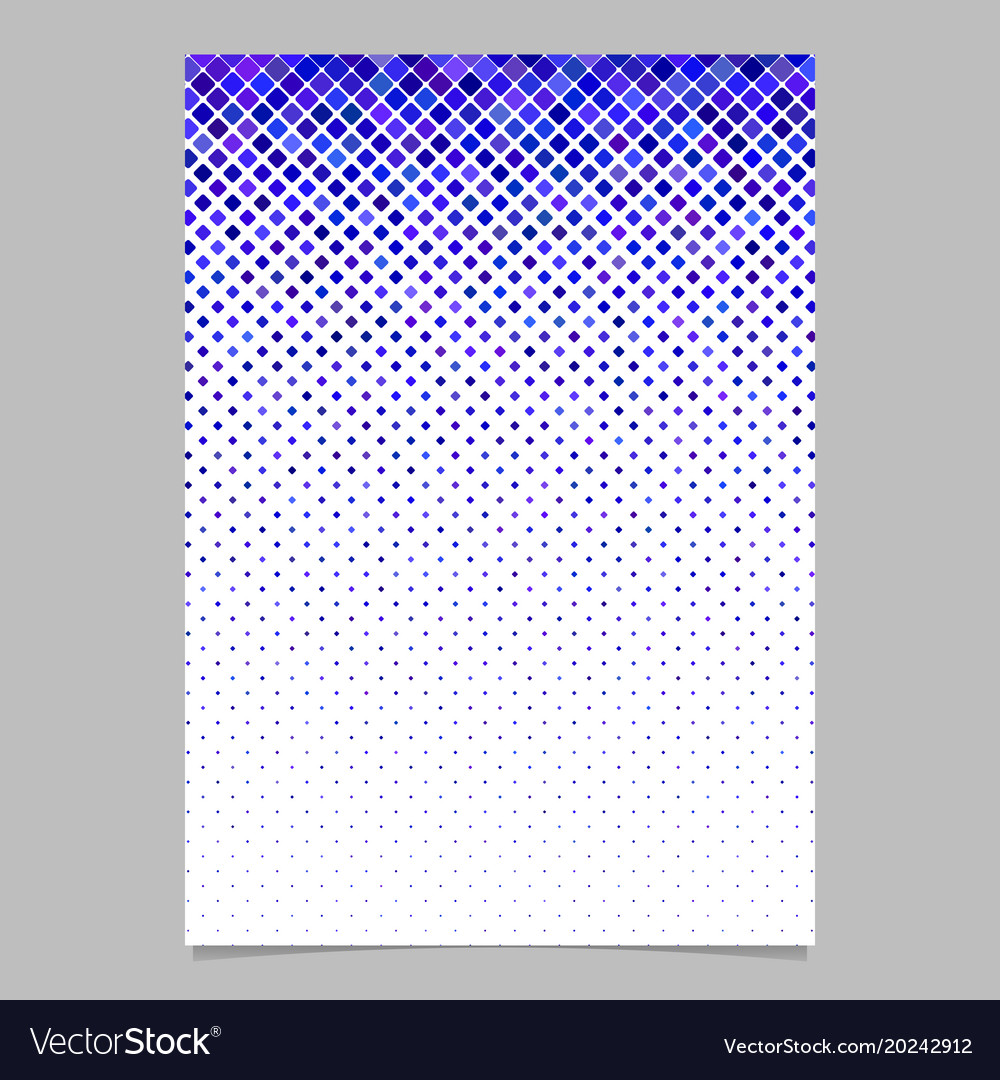 Geometric diagonal rounded square pattern