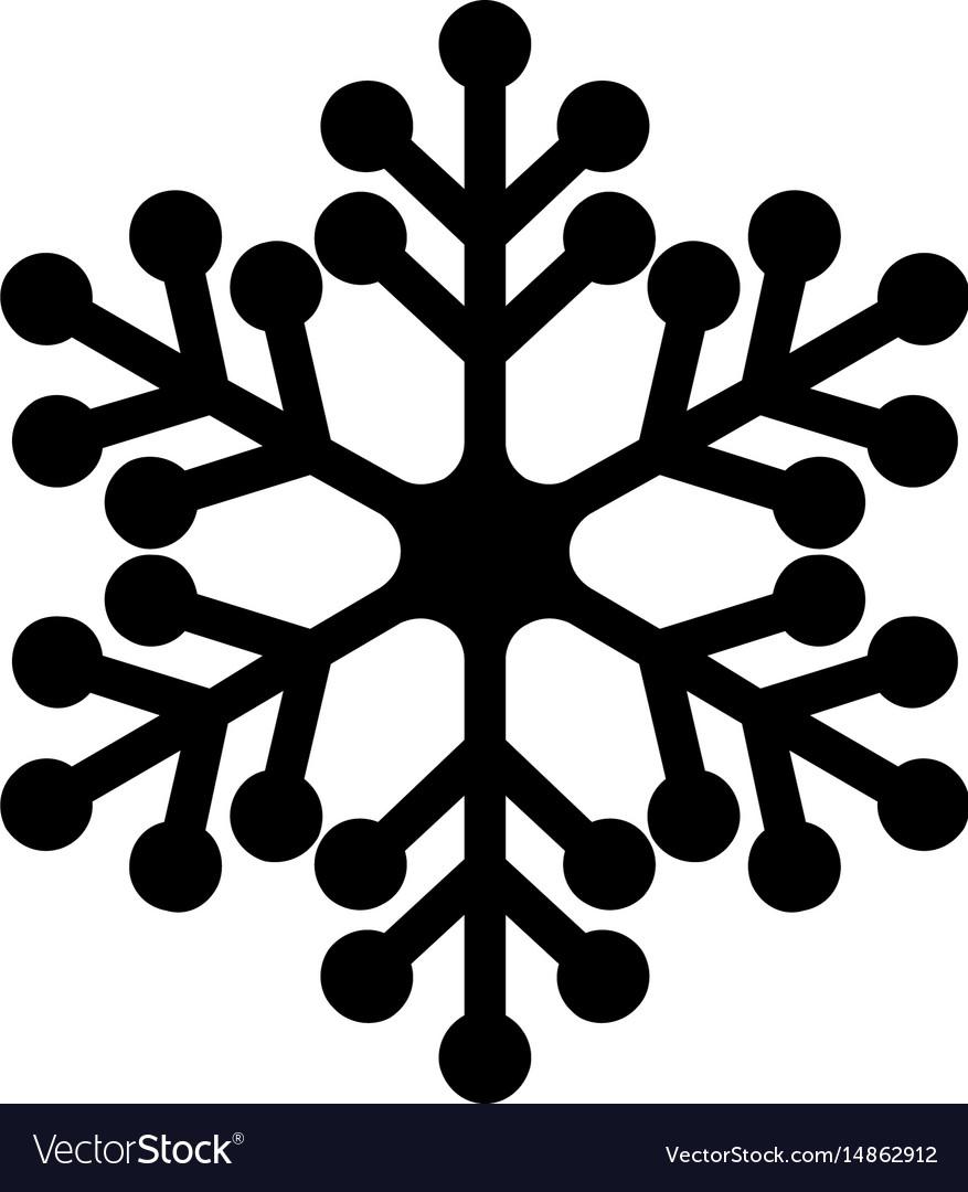 Snowflake icon concept