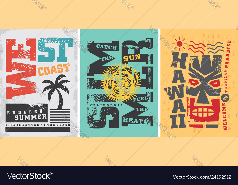 Summer t shirt graphic designs