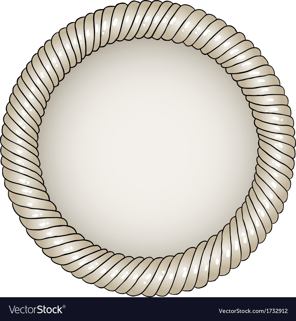 Unique hand-drawn circle frame with place for your