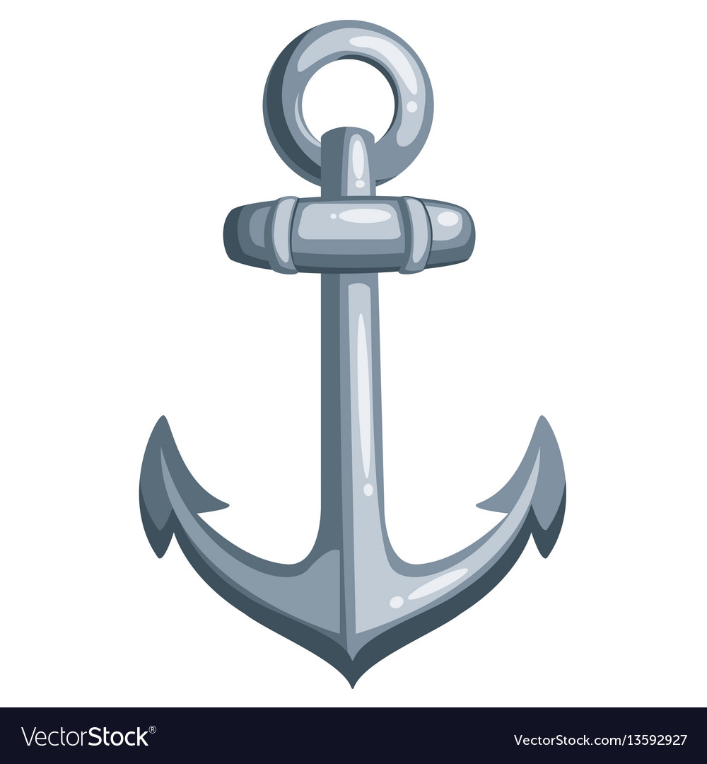 Cartoon ship anchor