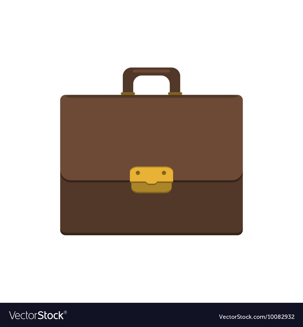 Briefcase icon Flat style
