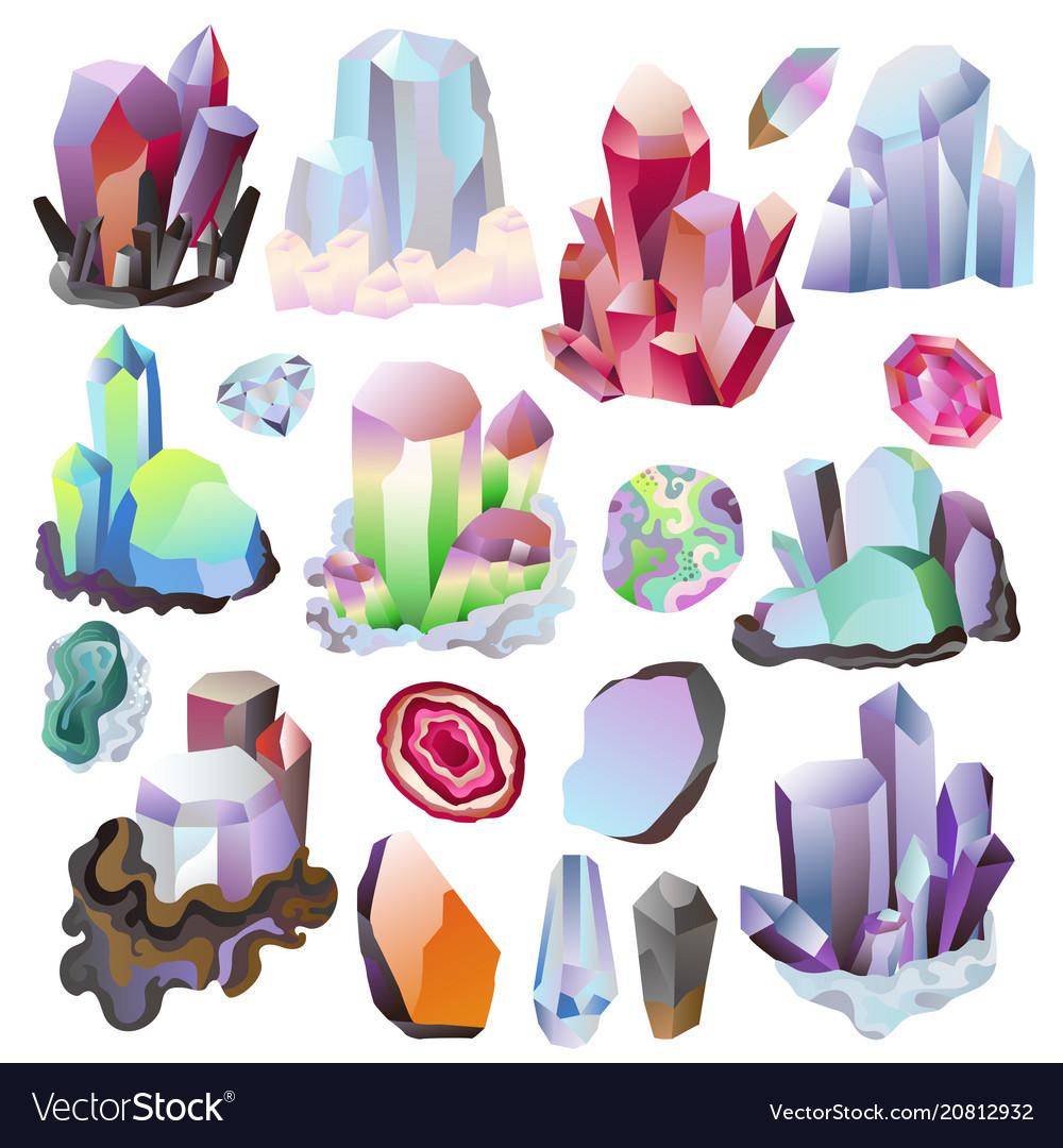 Crystal crystalline stone or precious
