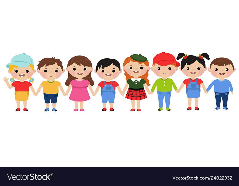 Happy children concept happy children concept