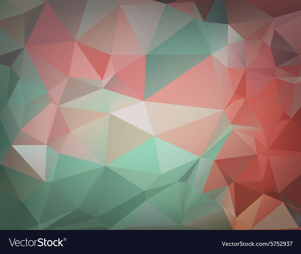 Abstract colorful triangle background for design