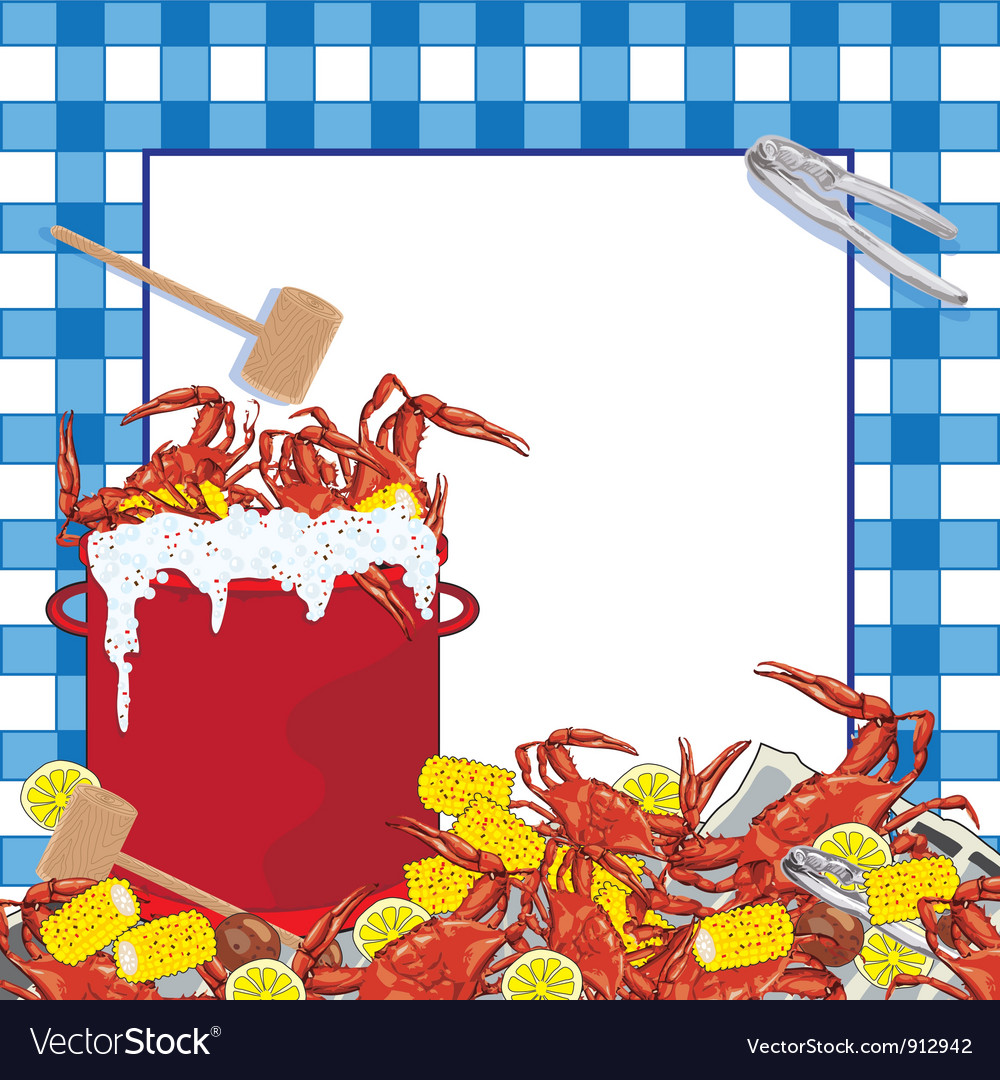 picture about Crawfish Boil Invitations Free Printable named Crab Boil get together invitation