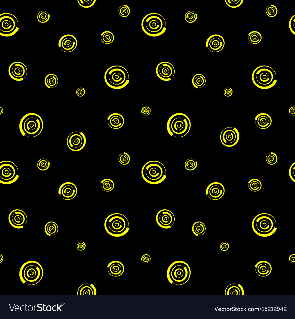 Polka dot chaotic seamless pattern 709