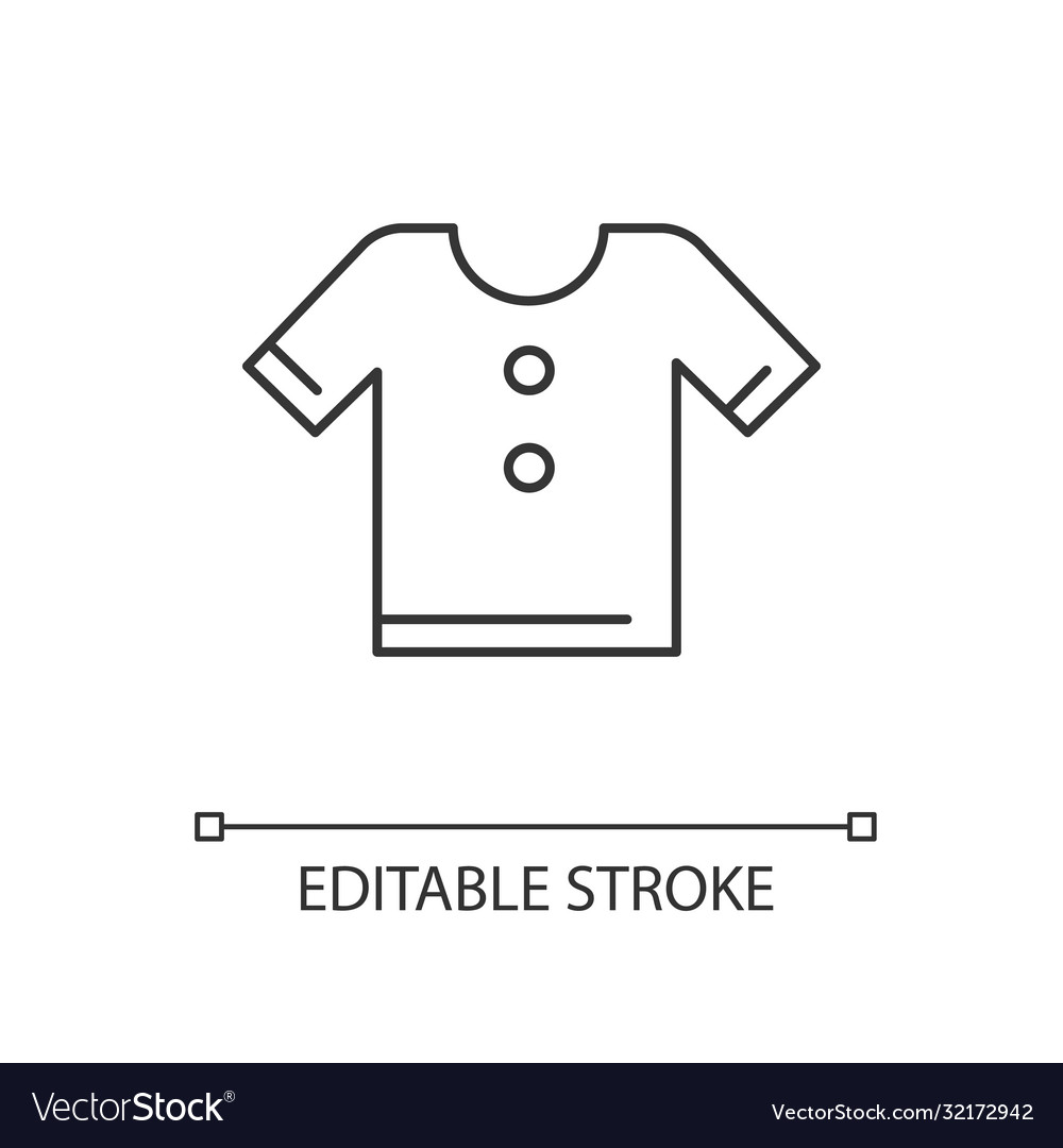 T shirt linear icon