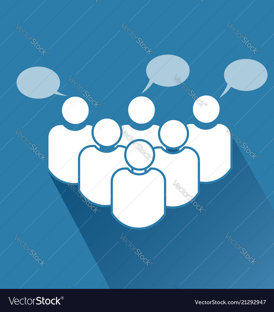 Group business teamwork meeting icon