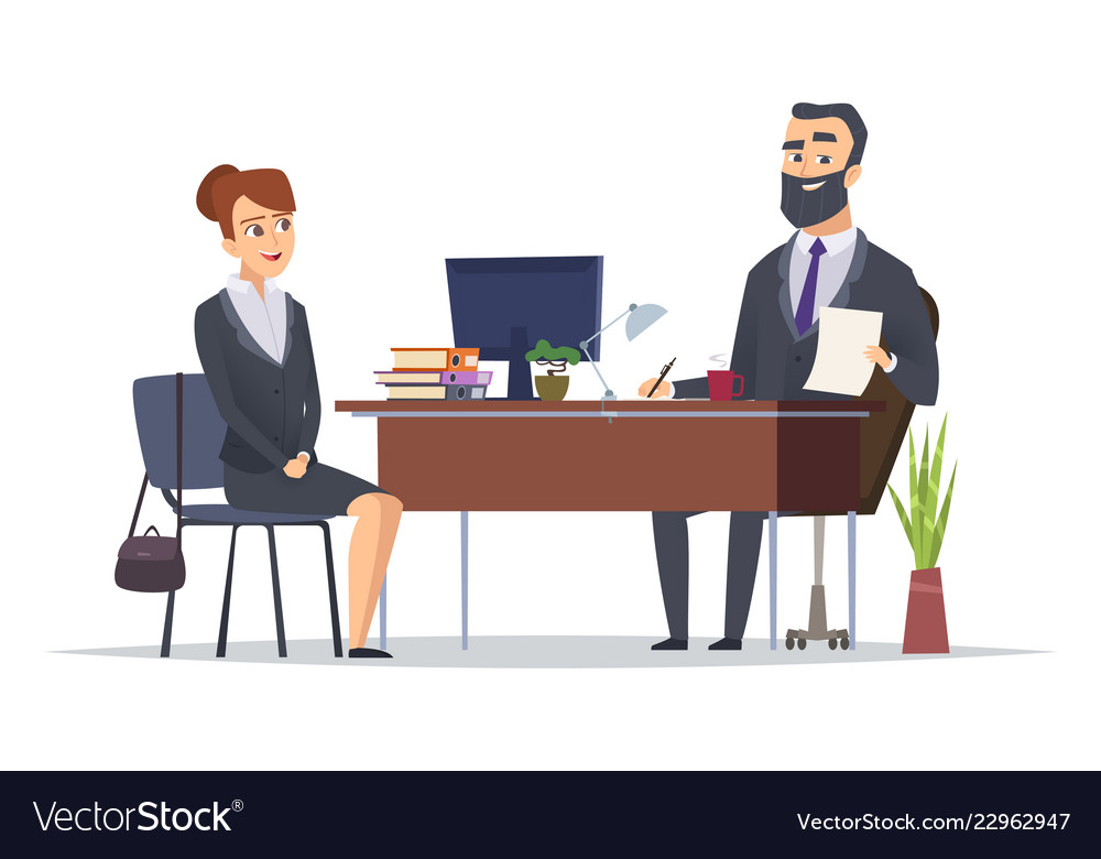 Job interview business office meeting hr managers