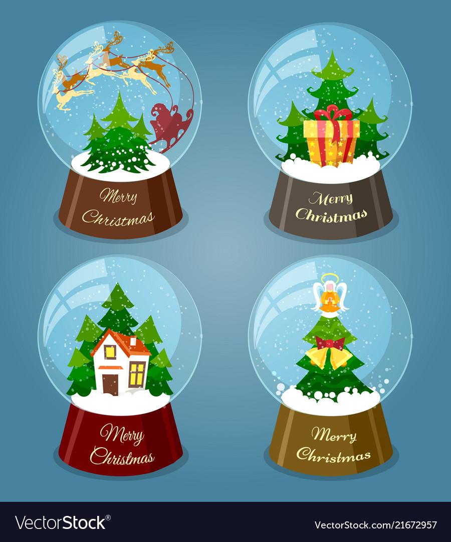 Christmas snow balls
