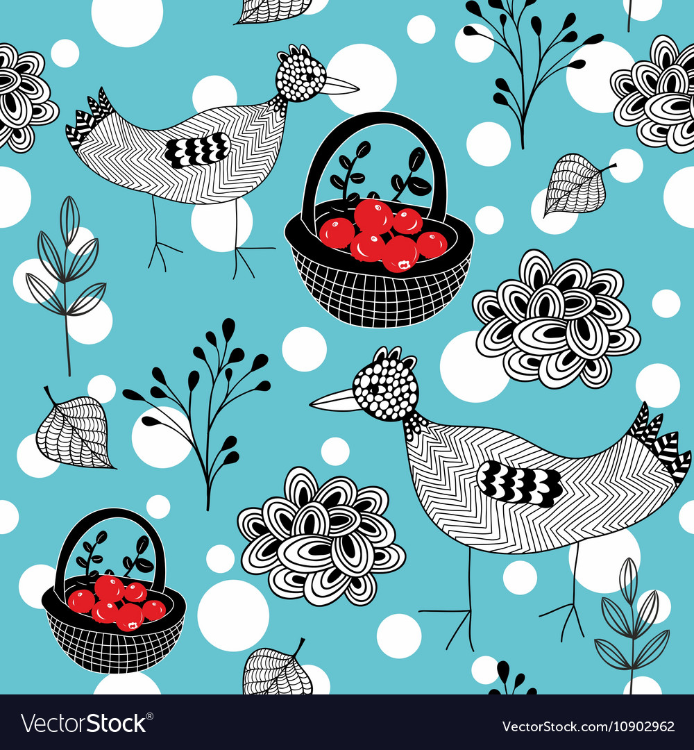 Cold winter seamless pattern with white snowballs