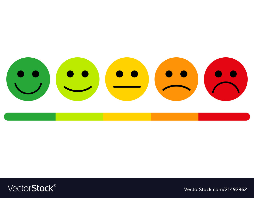 Emotions with smiles