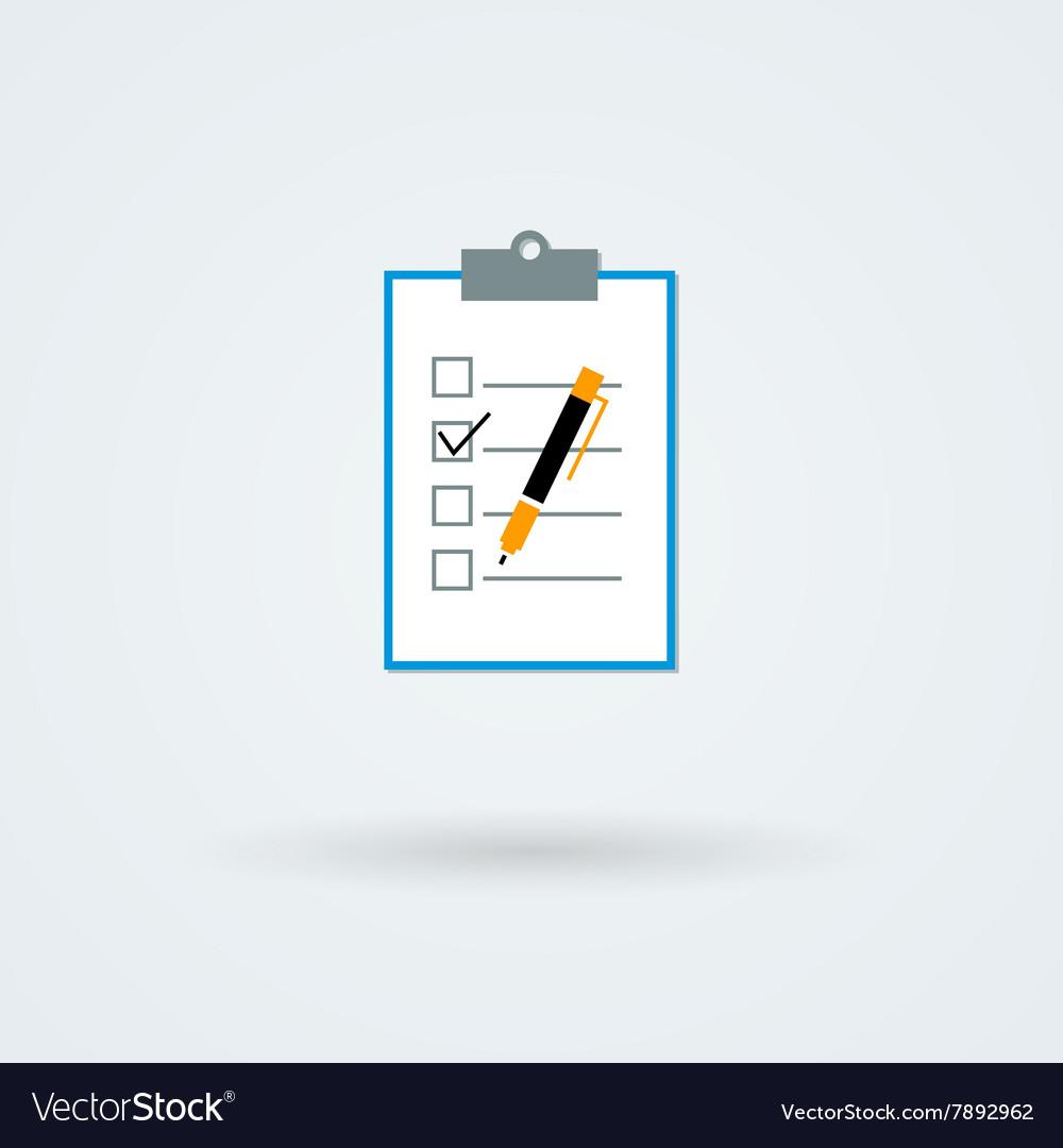 Paper board icon