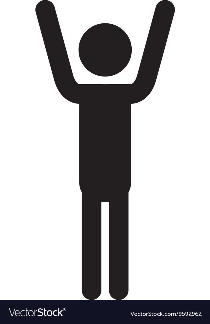 Pictogram icon Person design graphic