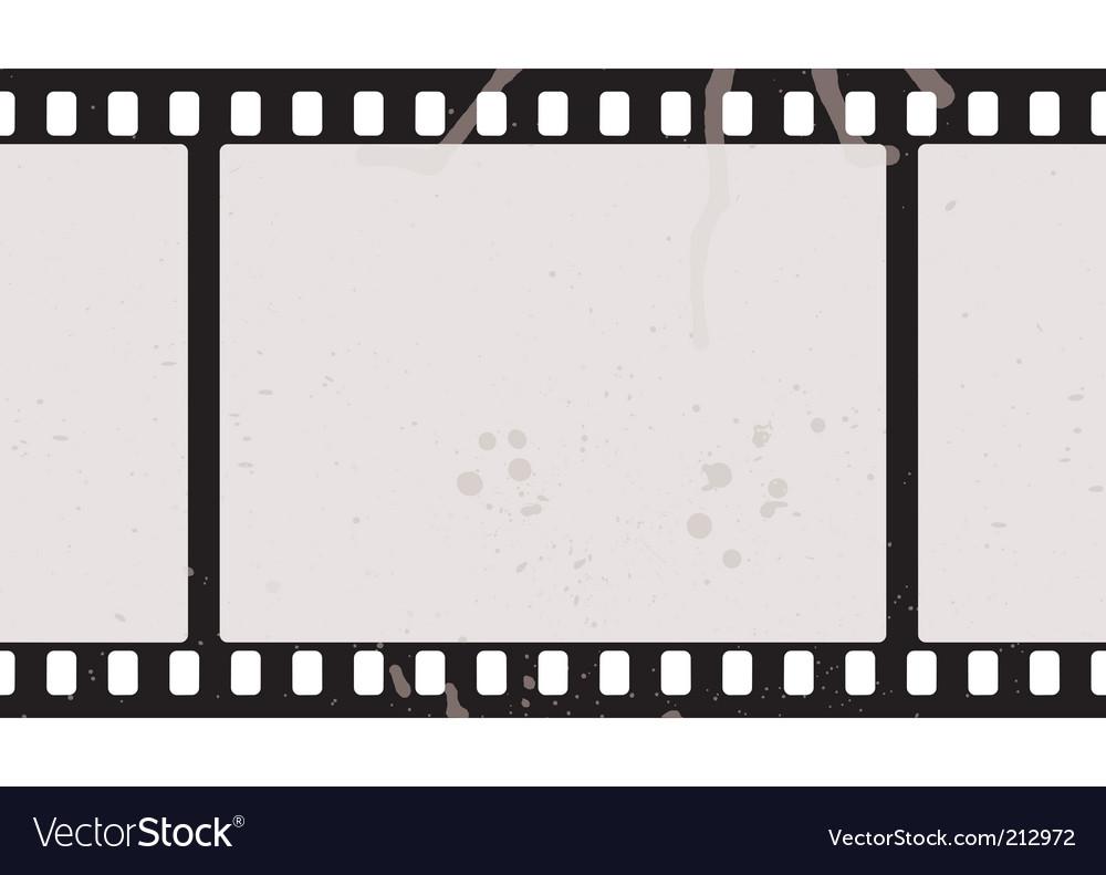 Film strip concept vector image