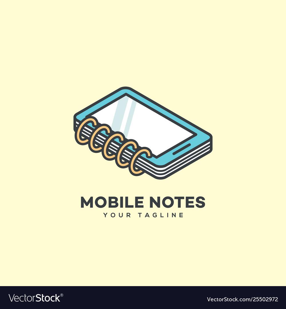 Mobile notes logo