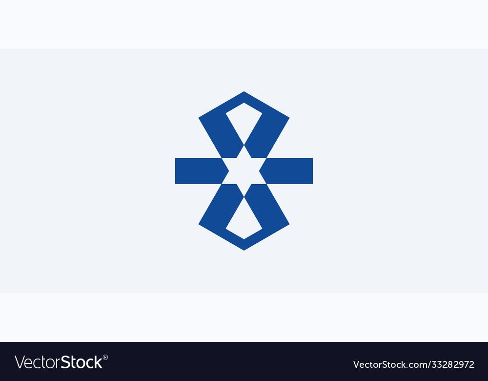 Simple ribbon icon