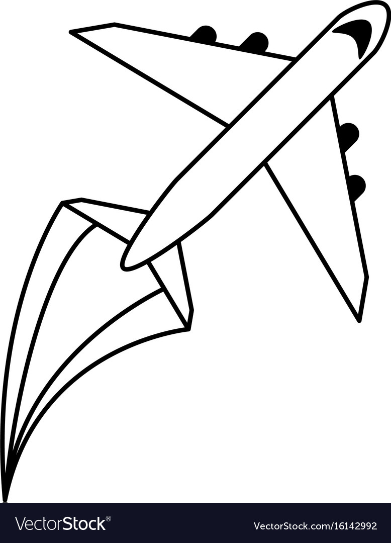 Airplane flying icon image