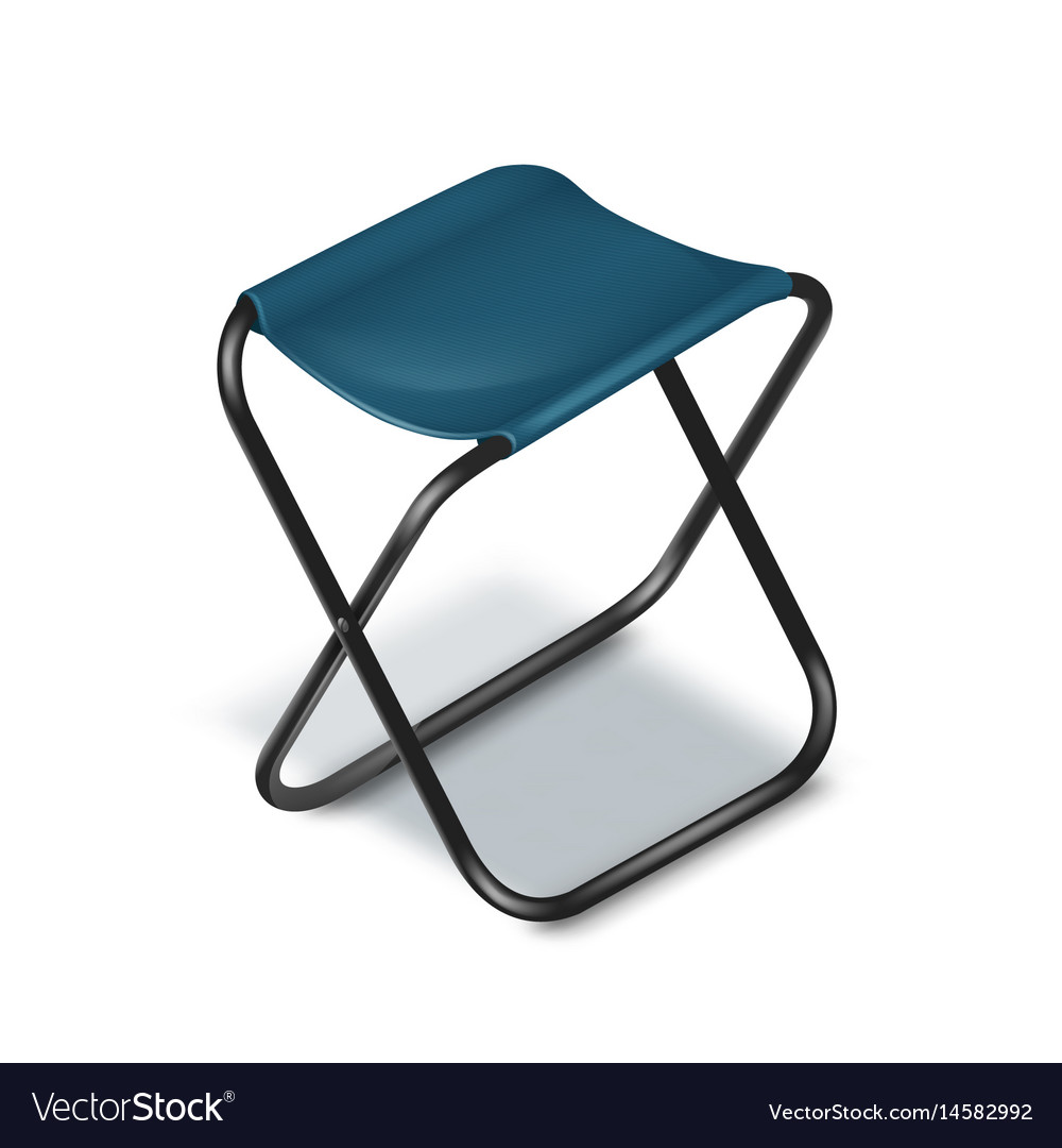 Superbe Picnic Folding Chair Vector Image