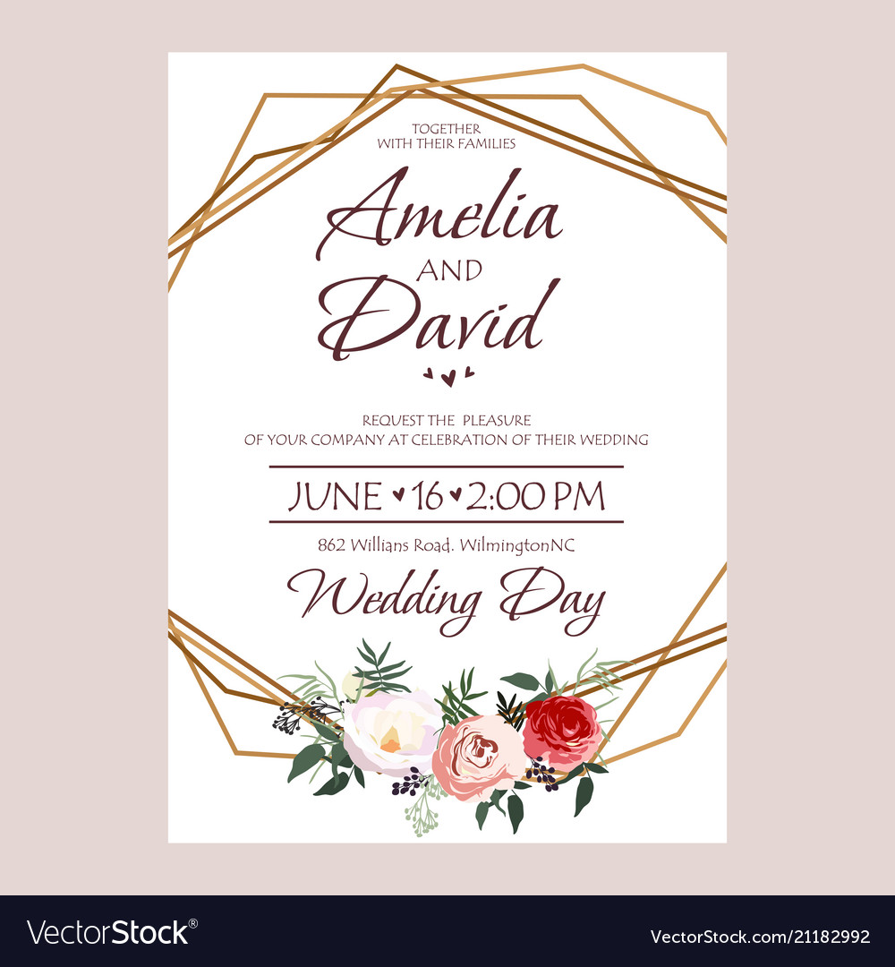 wedding invitation cards design