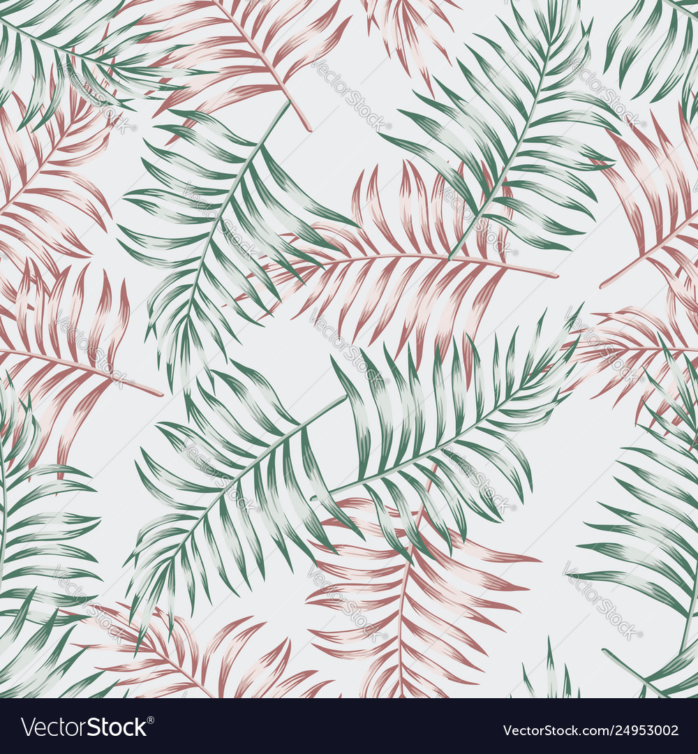Pattern from palm leaves