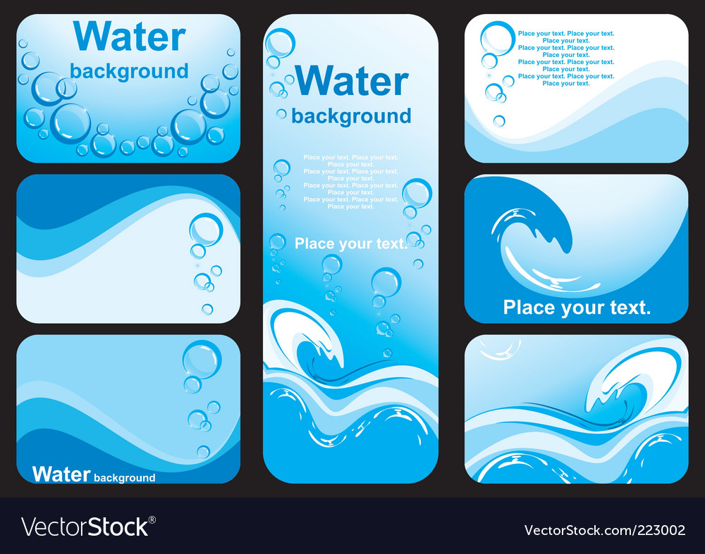 Water background image