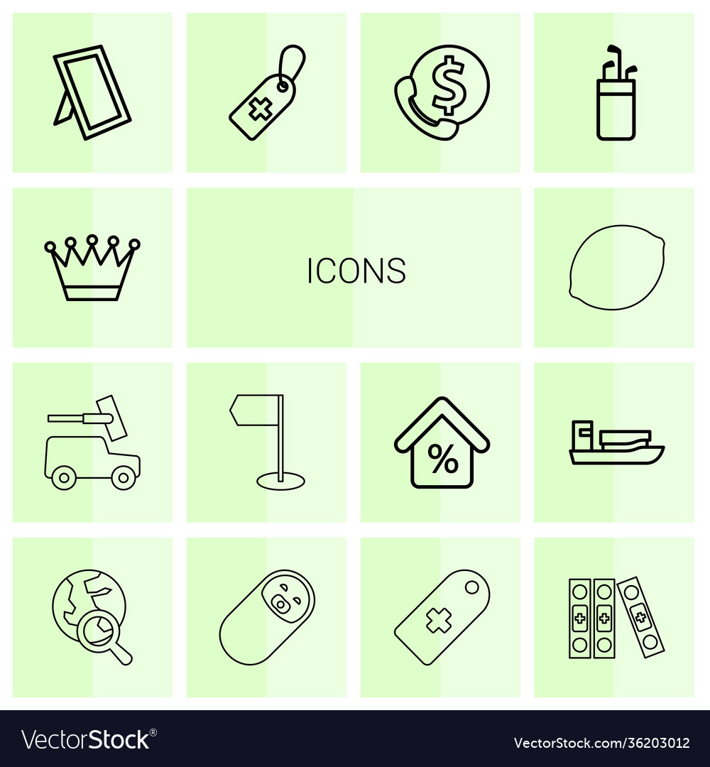 14 icons icons