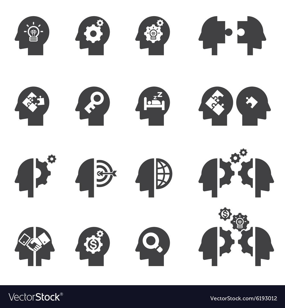 Head concept icon
