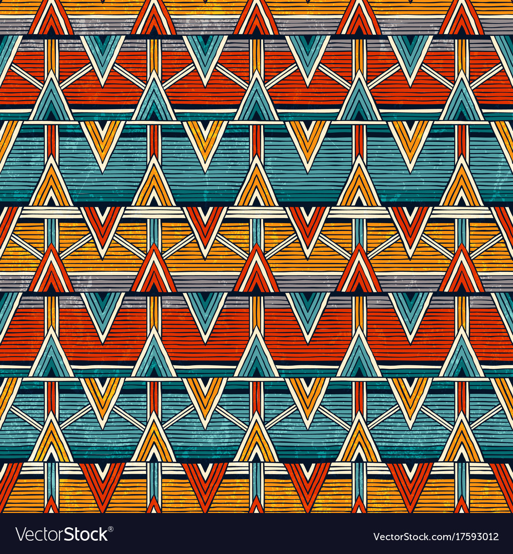 Tribal seamless pattern colorful abstract