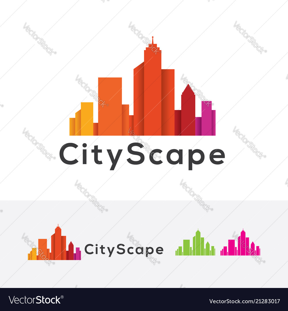 Cityscapes logo design