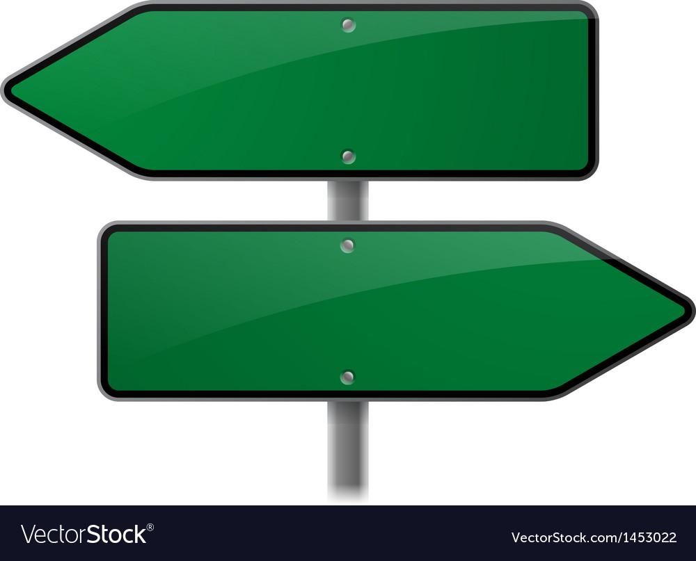 Arrow Sign Choice
