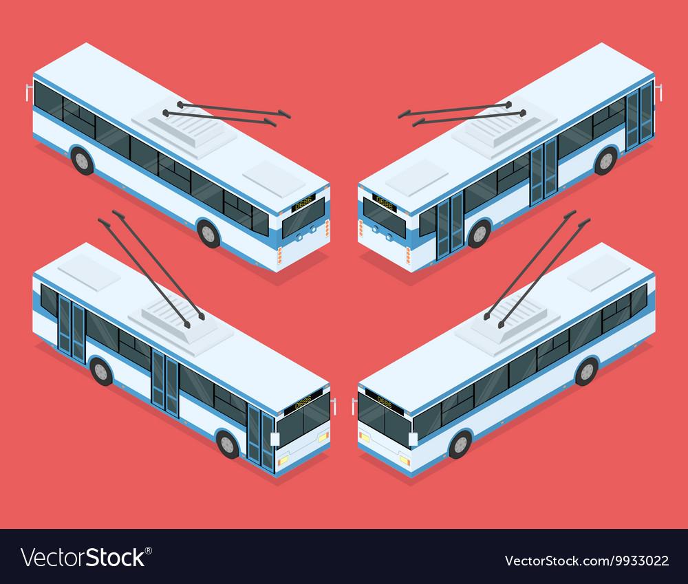 City trolleybus transport