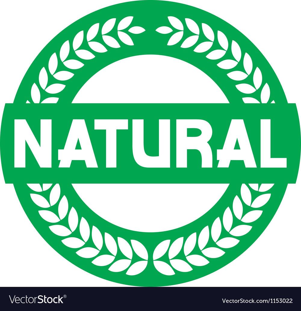 Natural label