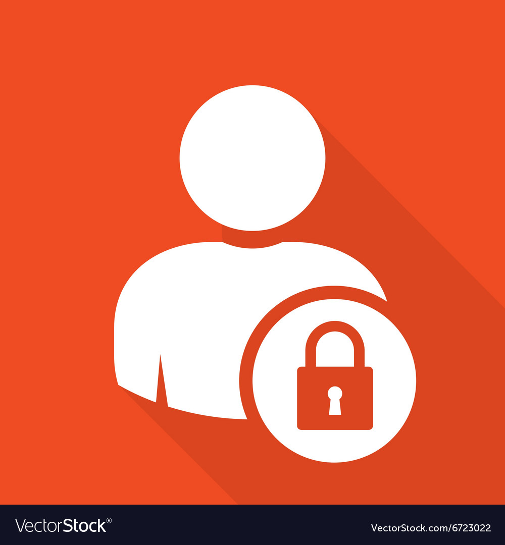 user log in icon access and authentication vector image