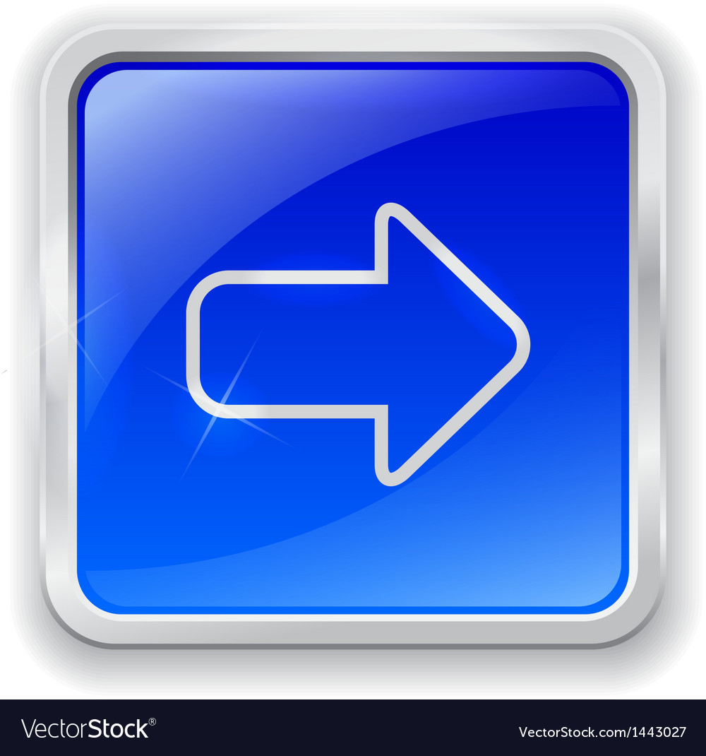 Arrow icon on blue button