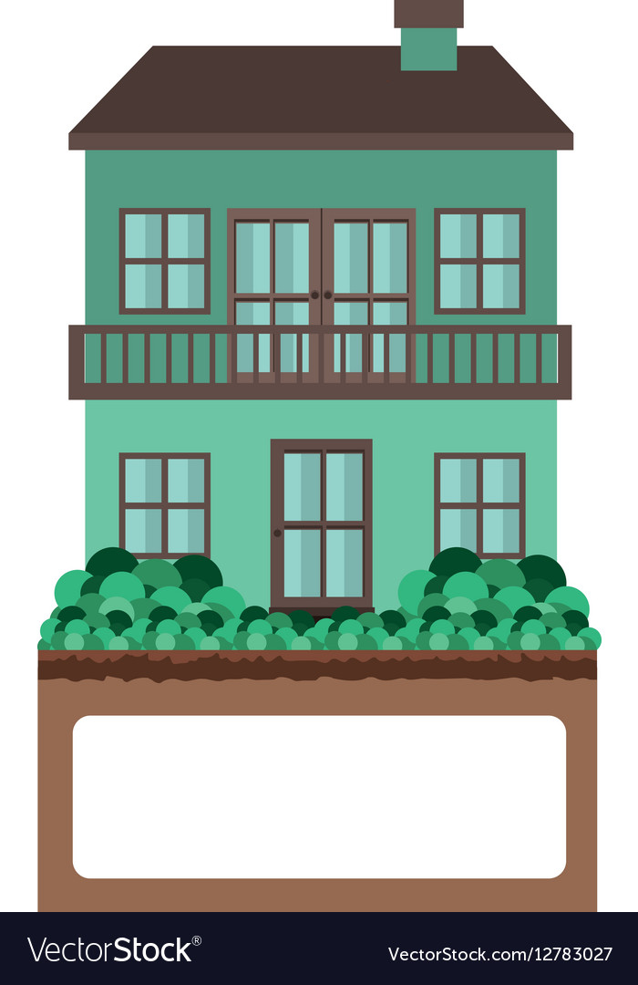 Balcony Royalty Free Vector Image