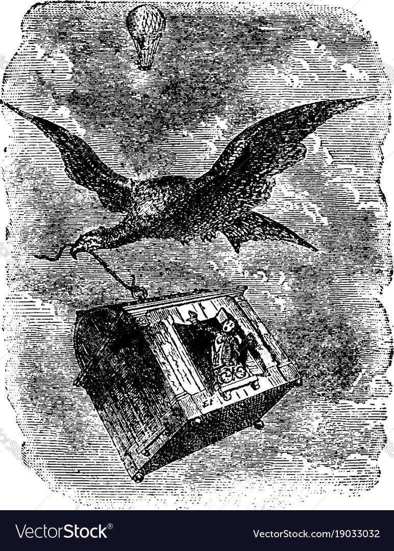 Flying eagle vintage