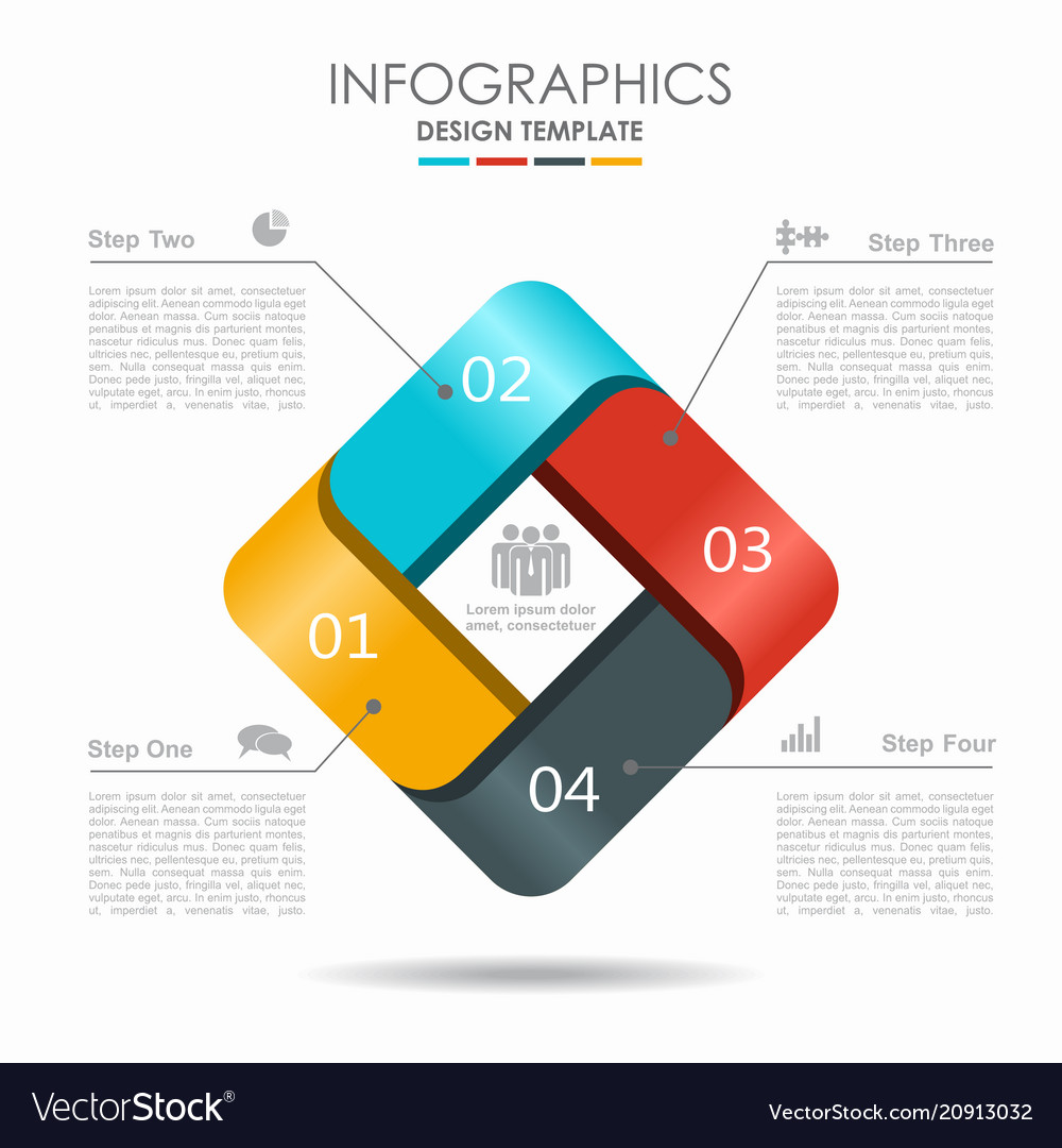 Infographic template can be