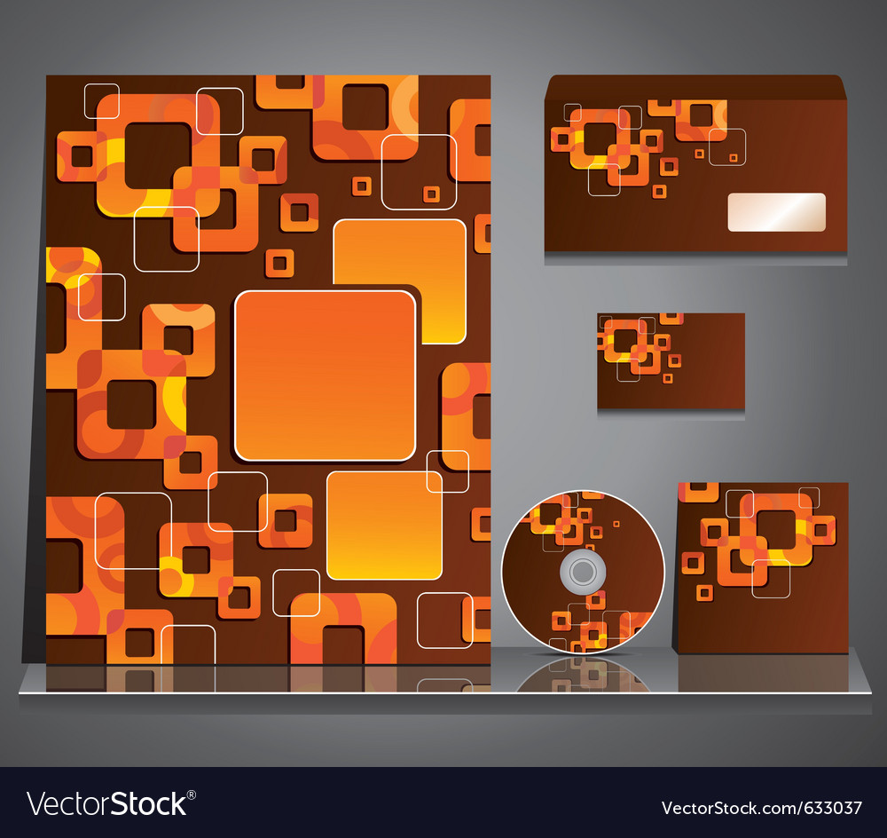 Business style background vector image