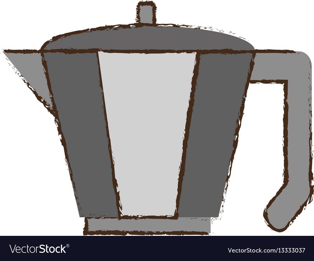 Coffee pot handle steel