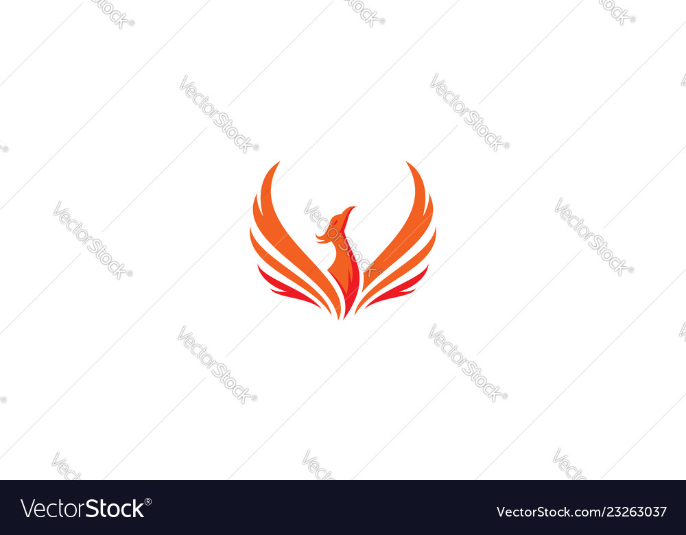 Phoenix bird logo icon