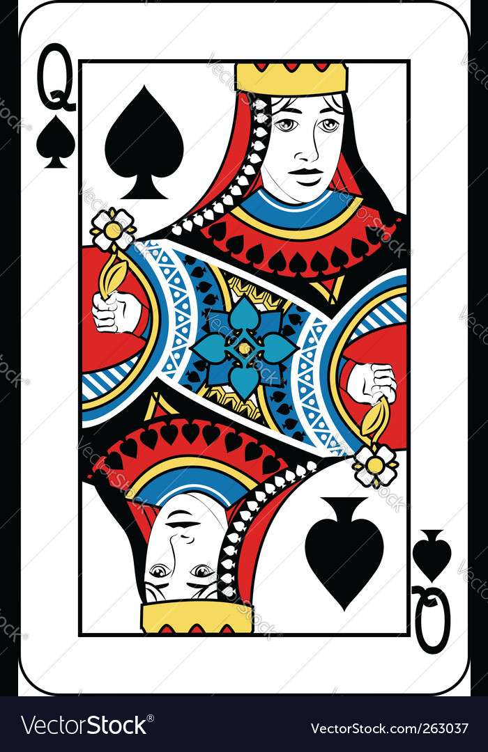 queen of spade card  Queen of spades