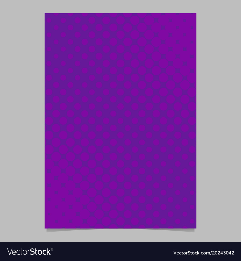Abstract halftone dot pattern brochure background