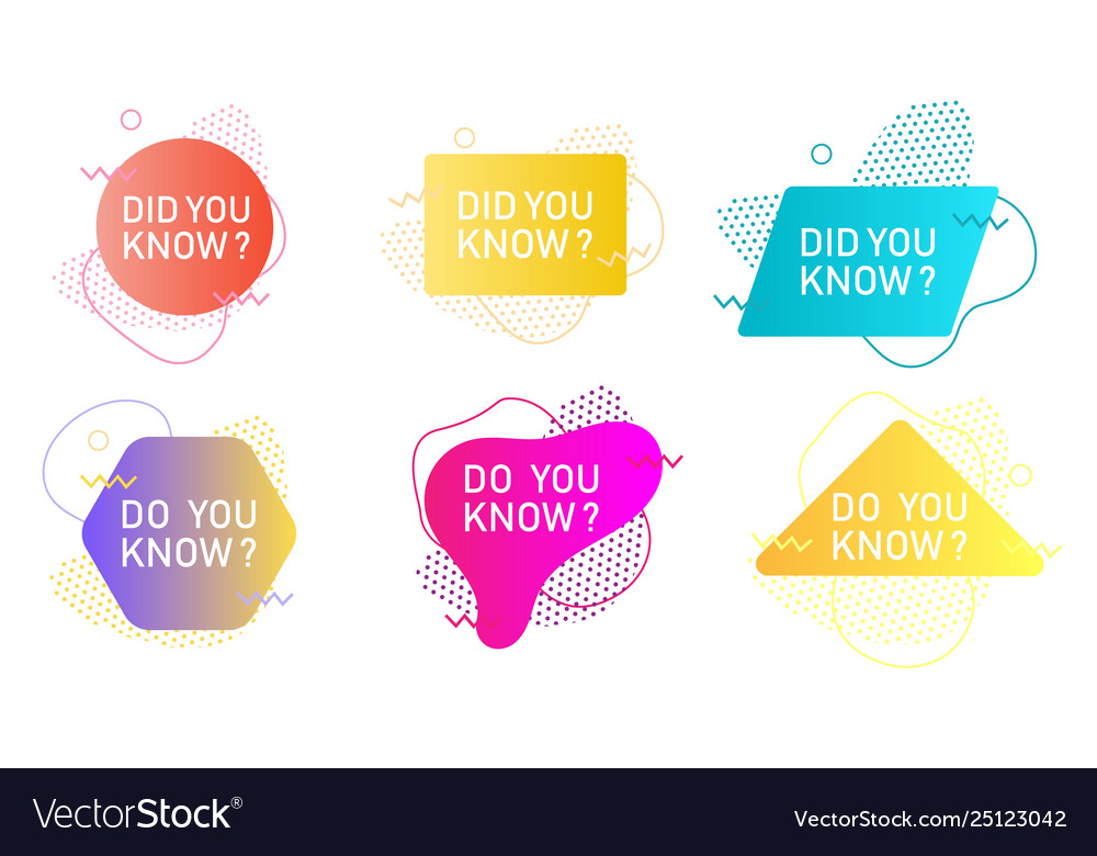 Did you know label set isolated