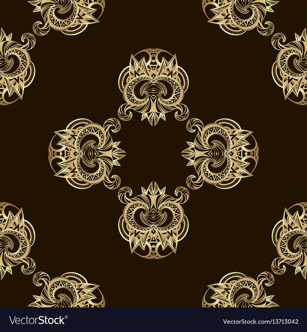 Seamless luxury golden pattern