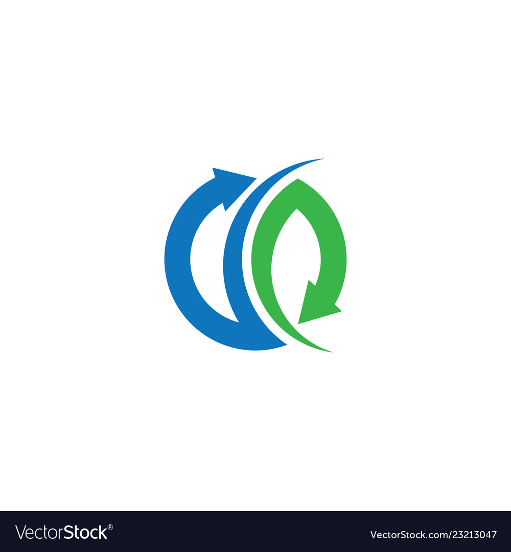 Circle arrow logo business